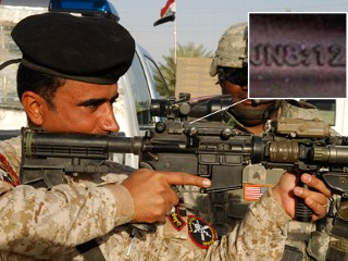 U.S. Rifle Scopes In Iraq And Afghanistan Feature Bible Verse Citations violating 1st Amendment of the US Constitution