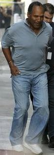 OJ Simpson handcuffed and arrested in Las Vegas, Nevada